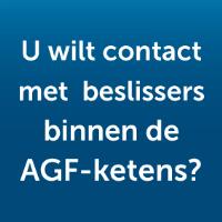 U wilt contact met beslissers binnen de AGF-ketens?