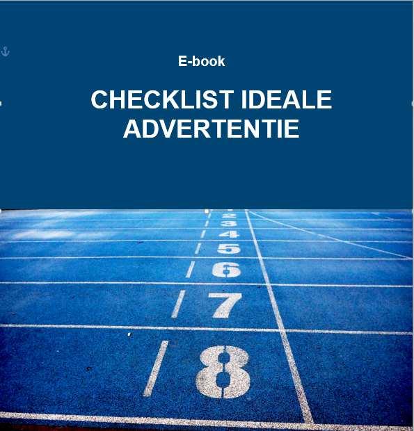 E-book Checklist Ideale Advertentie